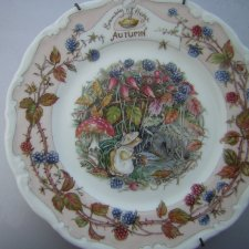 Royal Doulton BRAMBLY HEDGE collection 1983 Autumn  by Jill  Barklem 1983