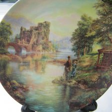 "wedgwood  ""GONE FISHING"" - ""The Apprentice"" by Graham Twyford"