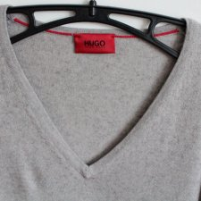 PLUS SIZE sweter HUGO BOSS