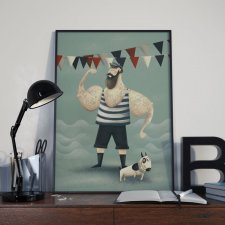 "Plakat ""Mr Sailor"" A3"