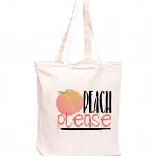 Torba z nadrukiem - Peach please