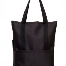 Torba Pocket Black 100% vege mat