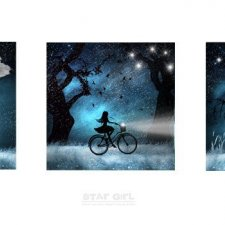 Star Girl Art Print Collection
