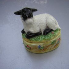 James Herriot's country Kitchen mint sauce boat 2000