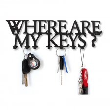 *decolicious, Wieszak na klucze  ARE MY KEYS