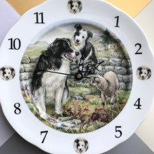 Rzadkość ❀ڿڰۣ❀ JAMES DEAN POTTERY -  Zegar ❀ڿڰۣ❀ SYGNOWANY