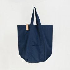 NAVY BLUE STREET BAG - OVERSIZE