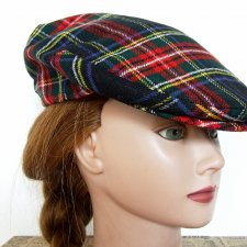 kaszkiet obw 58 cm The scotch house flat cap 100 % wool