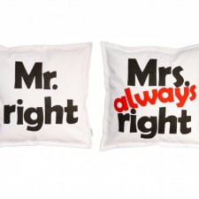MR. RIGHT MRS. ALWAYS RIGHT