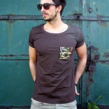 T-SHIRT ONE POCKET TEE UNISEX kolory