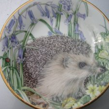 """ Hedgehog""  The Sheila Mannes - Abbot Collection Royal Kendall"