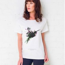 HUMINGBIRD PAINTED Oversize T-shirt