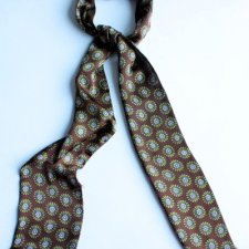 Skinny scarf silk exclusive