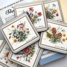 Unikatowe! ❀ڿڰۣ❀ DELUXE FINISH ❀ڿڰۣ❀ Pimpernel Coasters ❀ڿڰۣ❀ Podkładki #3