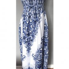 Maxi Maroko dress