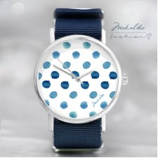 12 % Dots Watercolour Watch  + Box