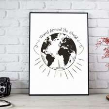 PLAKAT (A3) - world