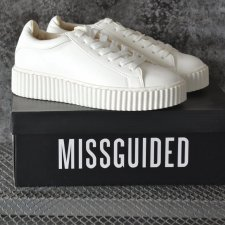 38 MISSGUIDED NOWE BUTY CASUAL