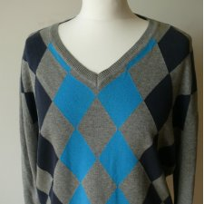 Sweter romby argyle