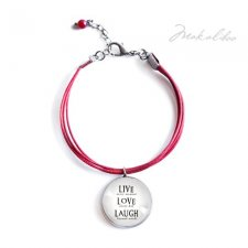 Live Love Lough- friendship bracelet