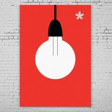 plakat: Light, 50/70 cm