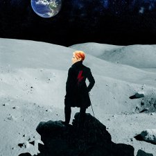 Bowie on the moon