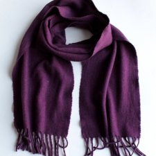 EXCLUSIVE cashmere WOOL SCARF