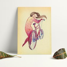 Plakat A3 - Bicycle Hugger