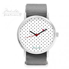 12 % LOVE dots Watch - gray
