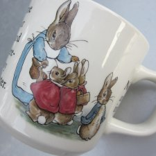Wedgwood Peter Rabbit BEATRIX POTTER DESIGN FREDERICK WARNE & CO porcelana kolekcjonerska użytkowa