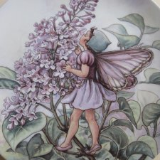 WEDGWOOD 1994 -  The Lilac Fairy - by CICELY MARY BAKER - kolekcjonerski talerz porcelanowy