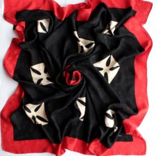 Exclusive silk scarf