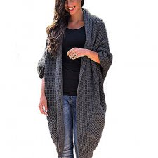 Długi Ciepły Sweter