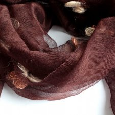 EXCLUSIVE wool SILK scarf
