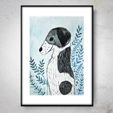 BORDER COLLIE Plakat 40x50