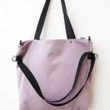 softbag light pink+black