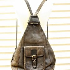 BOSBOOM LEATHER SHOULDER BAG