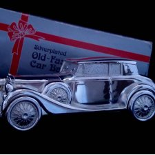 Car Bank ❀ڿڰۣ❀  SILVER PLATED - Model z 1937r.