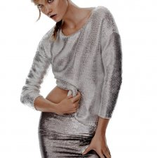 Gina Tricot Silver sweater