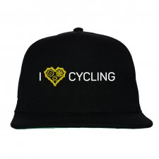 Czapka FullCap. I love cycling