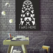plakat. I was here (format B2)
