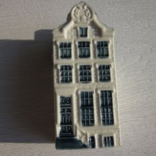 Kolekcja Delft KLM Bols -  Amsterdam house  nr. 62 - empty due to customs regulations on this route