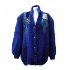 VINTAGE MOHAIR - SWETER