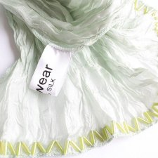 EXCLUSIVE SILK SCARF MINT