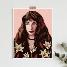 Kate Bush A2 art giclee print