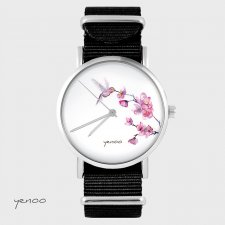 Zegarek - Koliber - czarny, nato