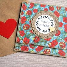 kartka ślubna :: handmade :: maki EKO II