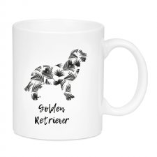 Kubek Tropical Golden Retriever