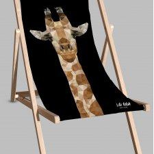 Leżak Black | Żyrafa