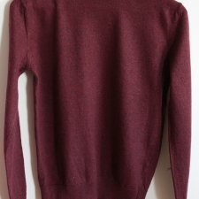 EXCLUSIVE 100% extrafine wool sweater
